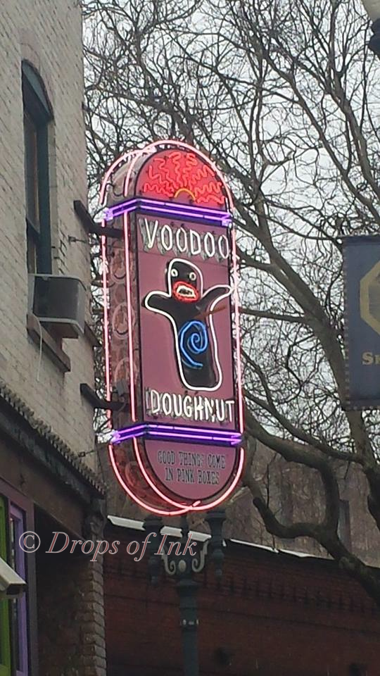 Voodoo Donuts in Portland Oregon...